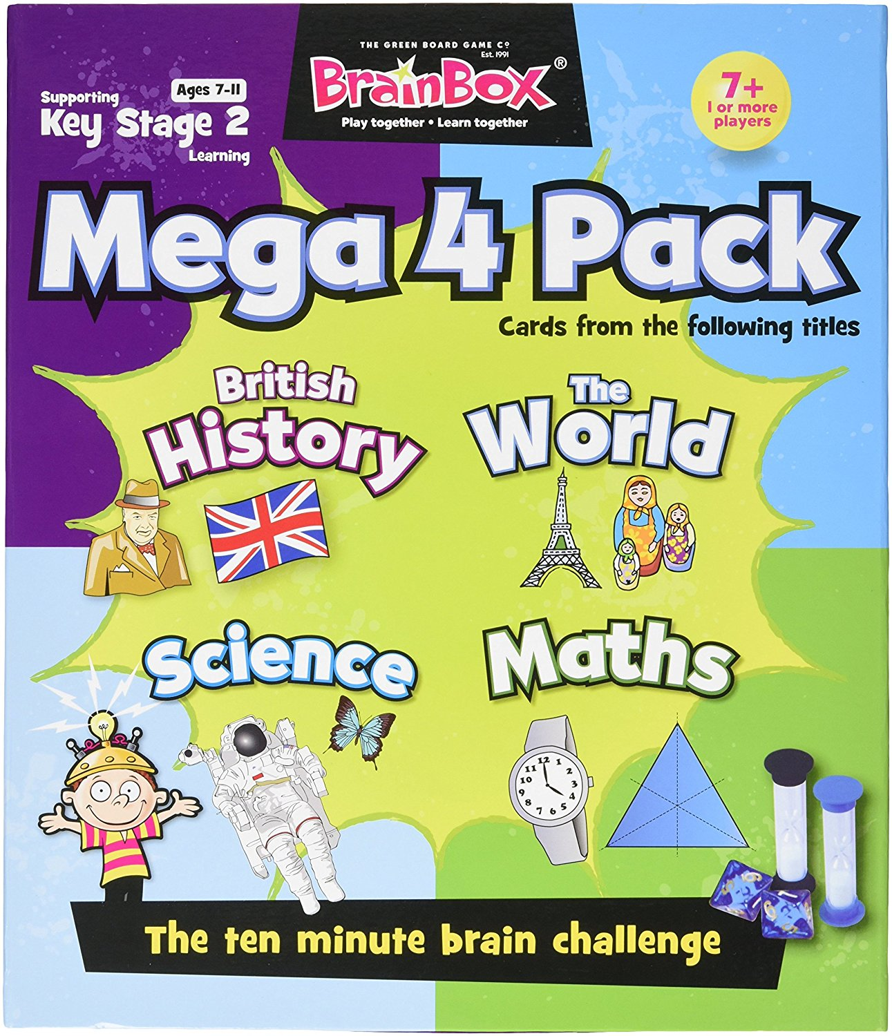 BrainBox Mega 4 Pack
