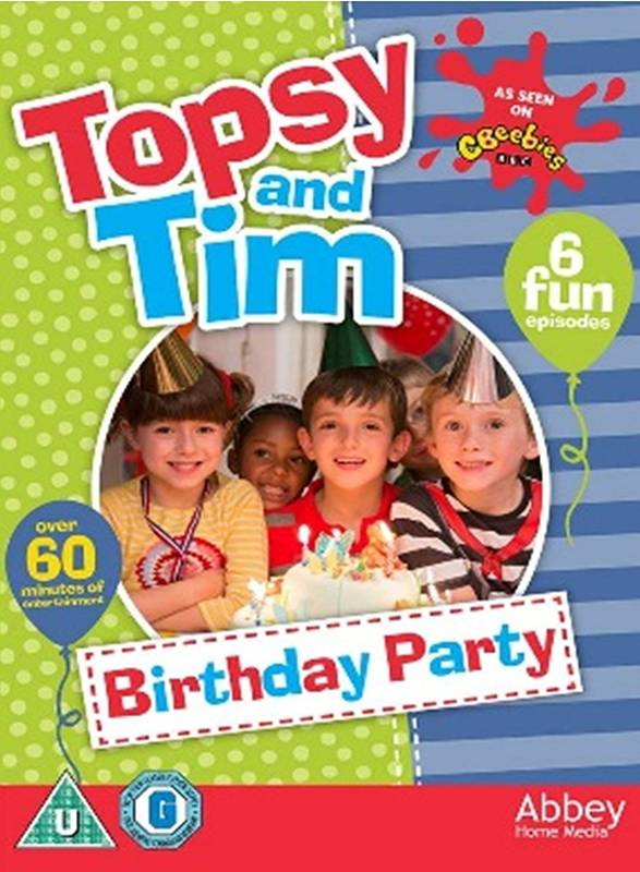 DVD Topsy & Tim - Birthday Party