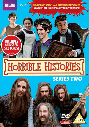 DVD Horrible Histories - Series 2 Děsivé dějiny 2
