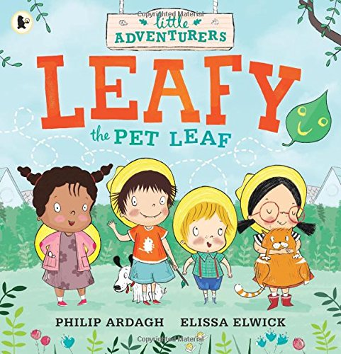 The Little Adventurers: Leafy the Pet Leaf podepsaná