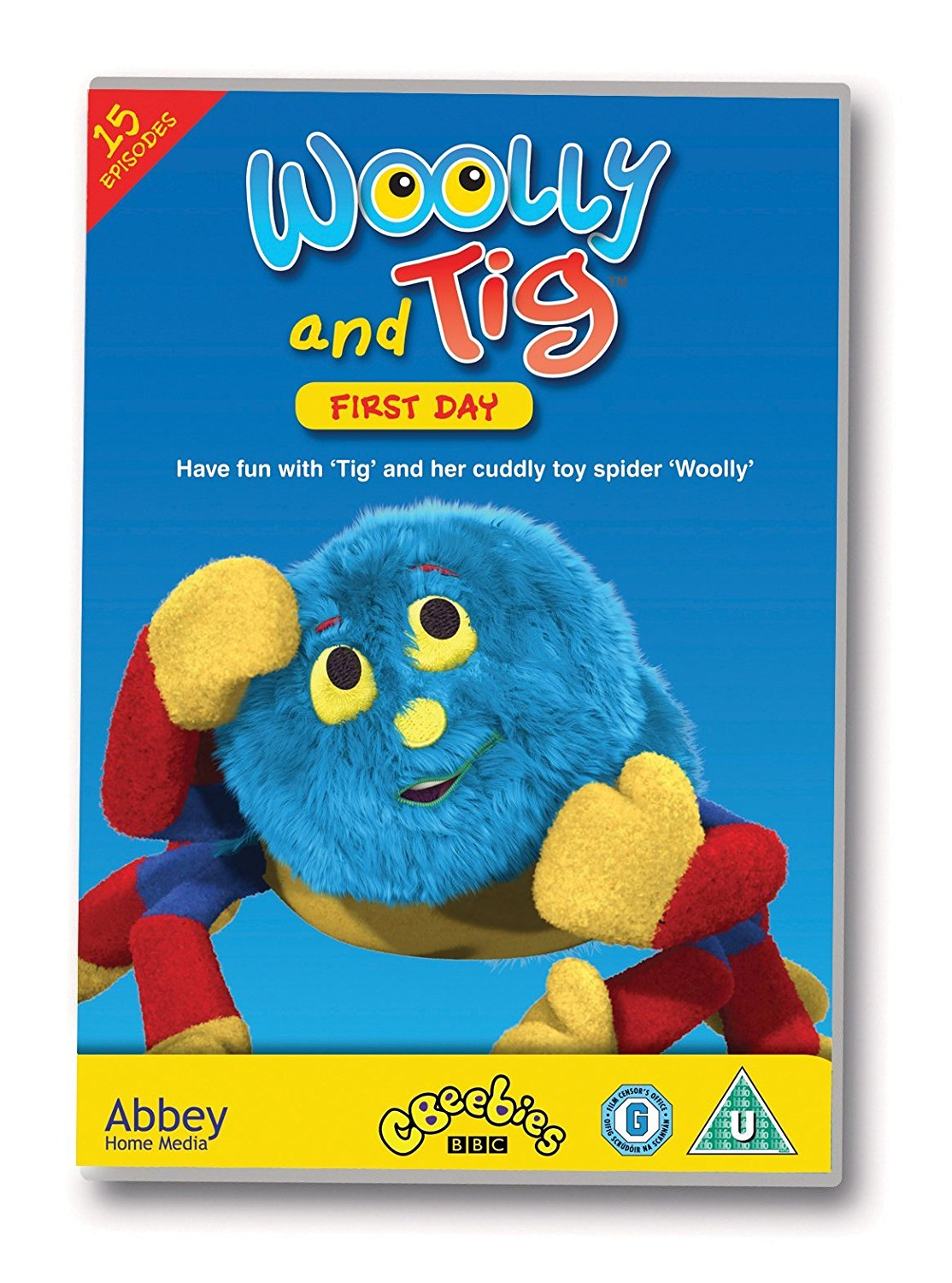 DVD Woolly and Tig - First Day