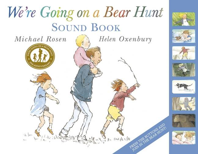 We´re Going on a Bear Hunt: Sound Book