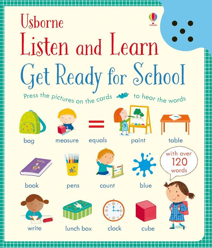 Listen and learn: Get ready for school poslech slovíček