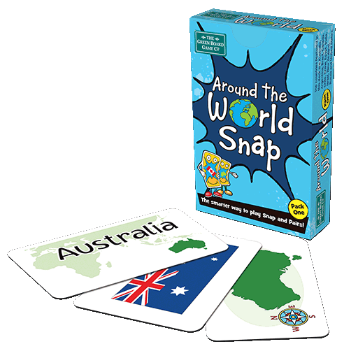 Around the World Snap Card Game