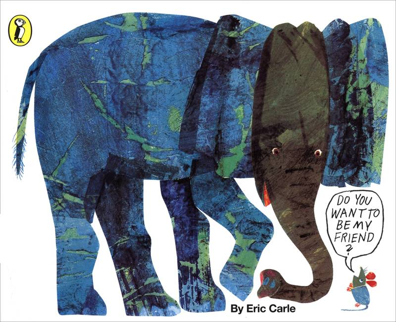 Do You Want To Be My Friend? Eric Carle v angličtině