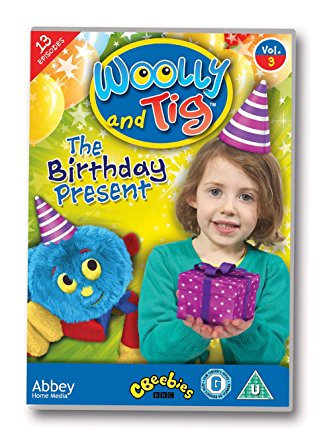 DVD Woolly and Tig - The Birthday Present