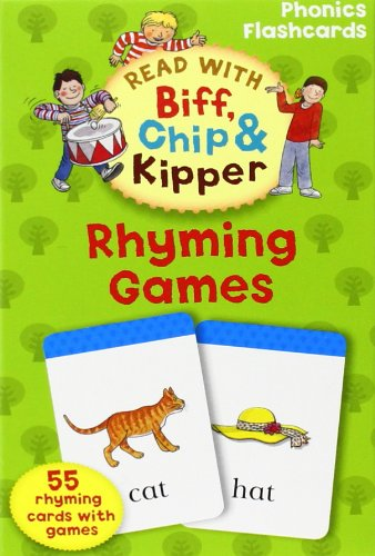 Read With Biff, Chip, and Kipper: Phonics Flashcards: Rhyming Games
