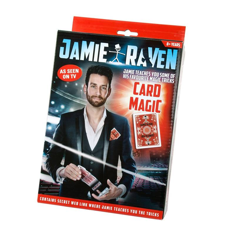 Jamie Raven Card Magic Set