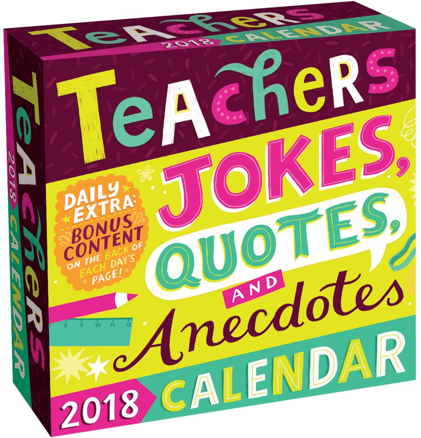 Teachers 2018 Day-to-Day Calendar