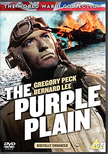 DVD The Purple Plain Gregory Peck ve filmu