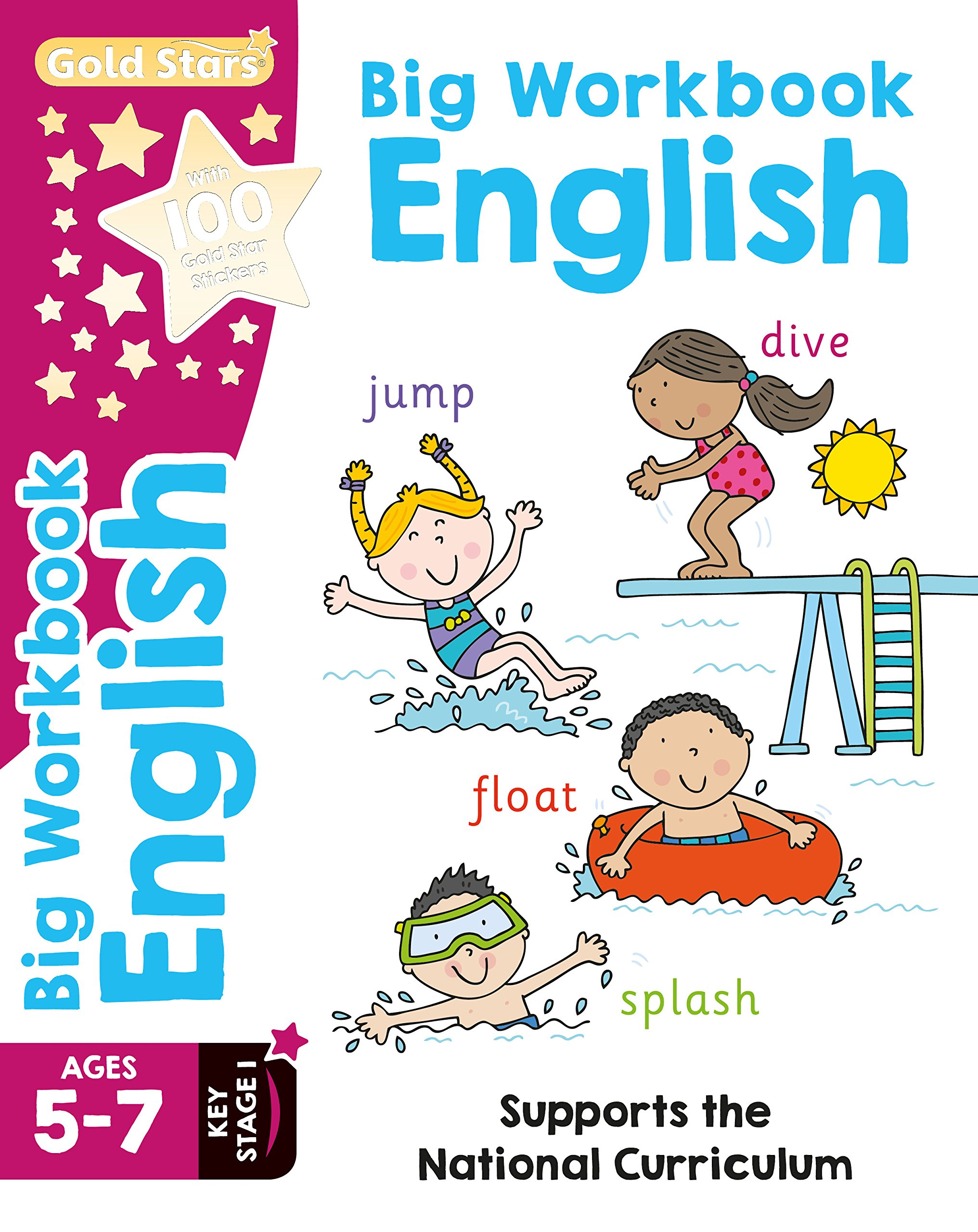 Gold Stars Big Workbook English