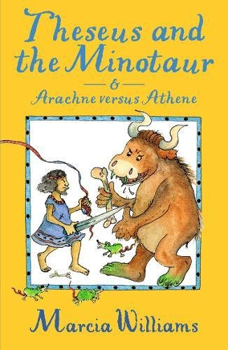 Theseus and the Minotaur and Arachne versus Athene