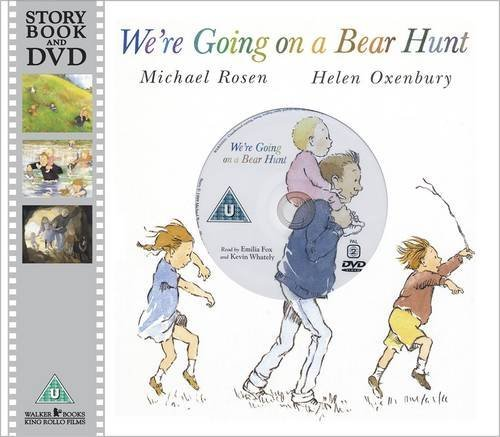 We're Going on a Bear Hunt + DVD Michael Rosen