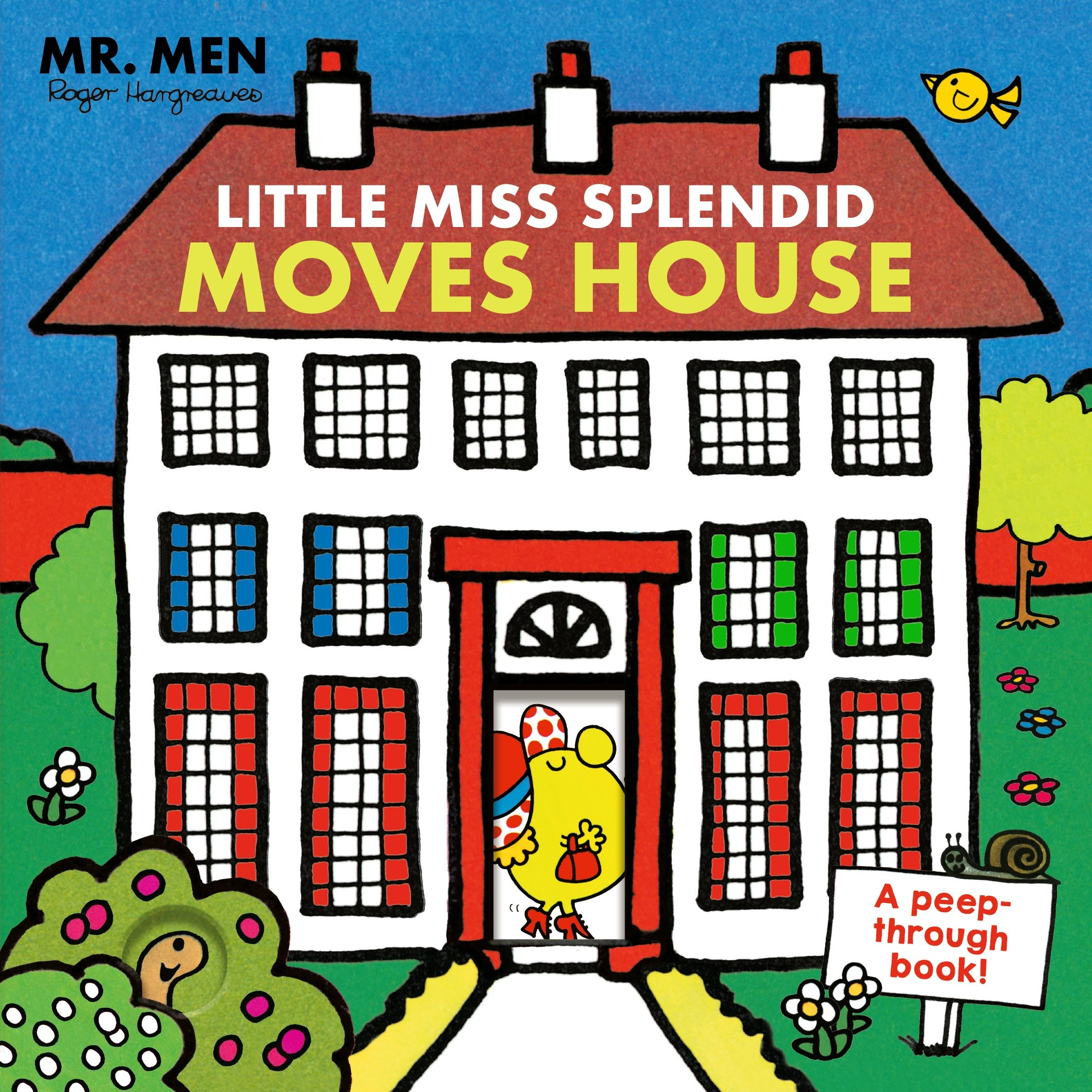 Mr. Men: Little Miss Splendid Moves House (A peep-through book)