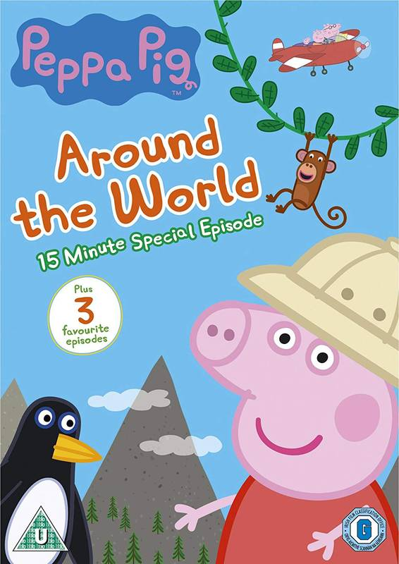 DVD Peppa Pig: Around the World