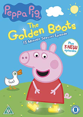 DVD Peppa Pig: The Golden Boots Prasátko Peppa anglicky