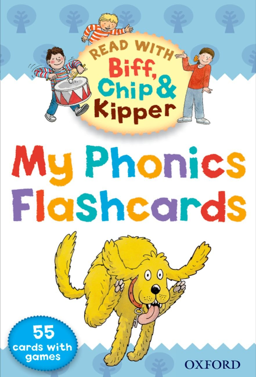 Read With Biff, Chip, and Kipper: My Phonics Flashcards
