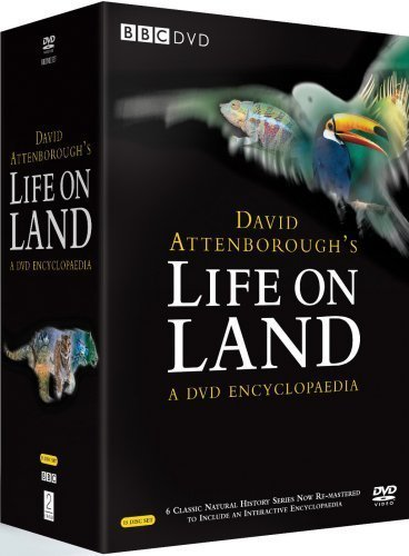 DVD David Attenborough's Life On Land - A DVD Encyclopaedia