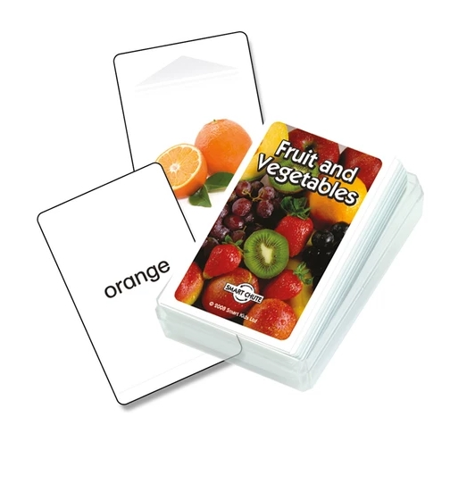 Fruit and Vegetables Cards ovoce a zelenina anglicky