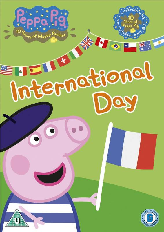 DVD Peppa Pig: International Day prasátko Peppa anglicky