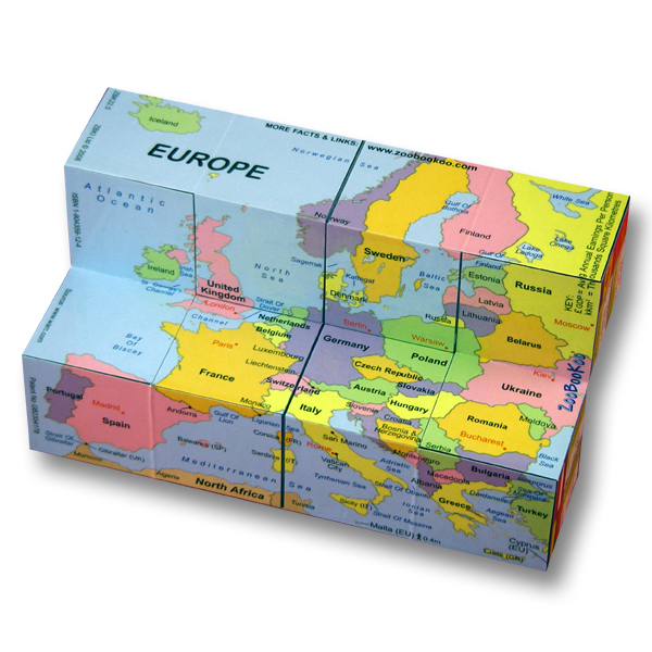 European Nations Cube Book