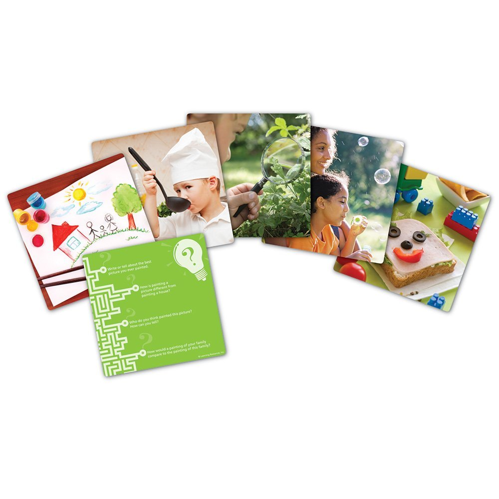 Snapshots™ Critical Thinking Photo Cards - Set 1