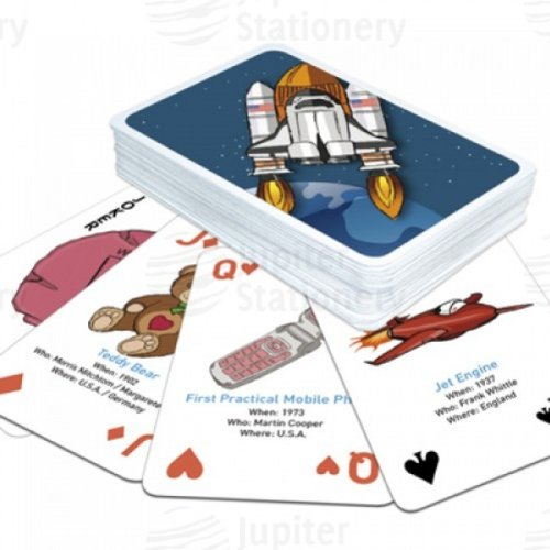 Great Inventions Playing Cards