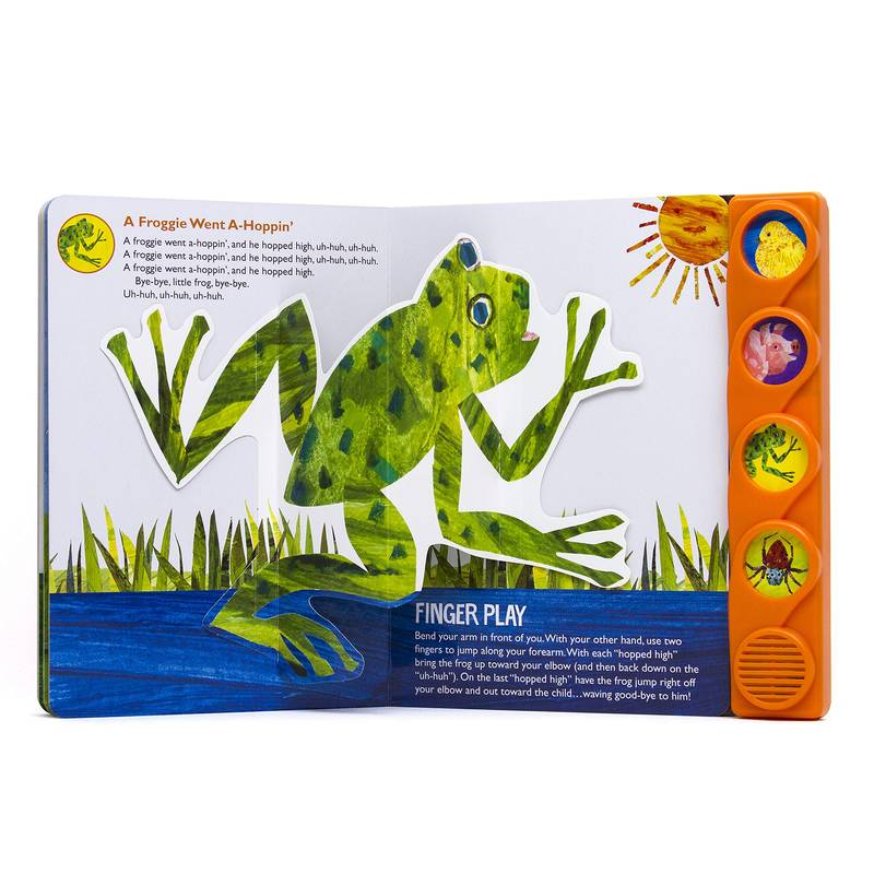 Eric Carle Little Pop-Up Song Book: Froggie Went Hopping