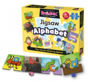 BrainBox Alphabet Jigsaw
