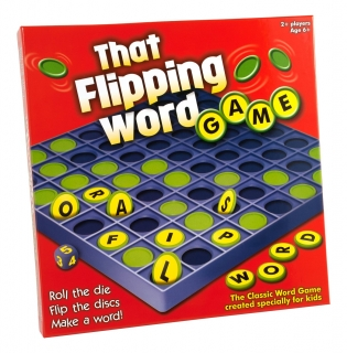 Flipping Word Game