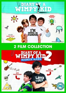 DVD Diary Of A Wimpy Kid 1 And 2