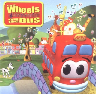 CD Wheels on the Bus (Sing Song City)