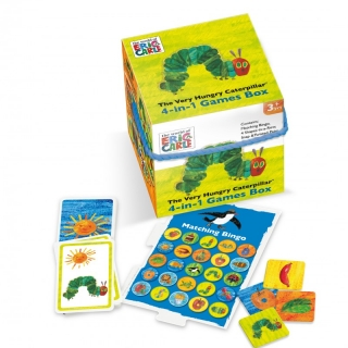 The Very Hungry Caterpillar 4-in-1 Games Cube