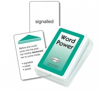 Word Power Chute Cards