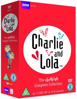 DVD Charlie and Lola - The Absolutely Complete Collection