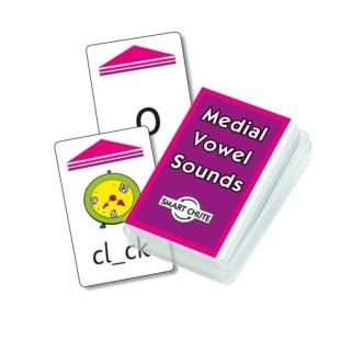 Medial Vowel Sounds Chute Cards