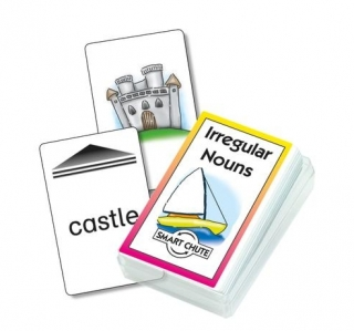 Irregular Nouns Chute Cards