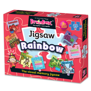 BrainBox Rainbow Jigsaw