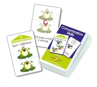 Concentration Skills Chute Cards