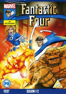 DVD Fantastic Four Season 1 -2