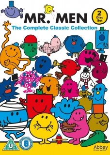 2x DVD Mr Men - The Complete Classic Collection