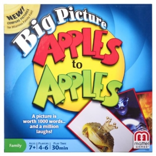 Apples to Apples Picture Game