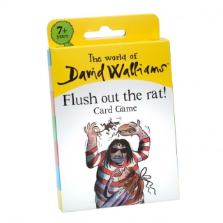 Flush Out the Rat Card Game (David Walliams)
