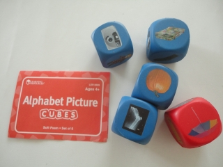 Alphabet Picture Cubes