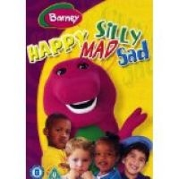 DVD Barney - Happy Mad Silly Sad emoce v angličtině s Barney