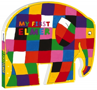 My First Elmer: Shaped Board Book