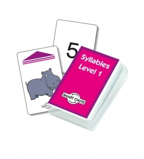 Syllables Chute Cards