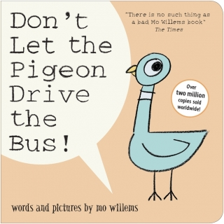Don't Let the Pigeon Drive the Bus! komiks anglicky