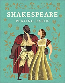 Shakespeare Playing Cards hrdinové dramat Shakespeara