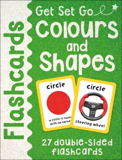 Colours And Shapes Flashcards Get Set Go karty